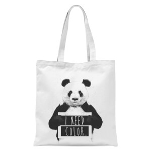 Balazs Solti I Need Color Tote Bag - White