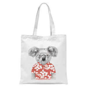 Balazs Solti Koala Bear Tote Bag - White