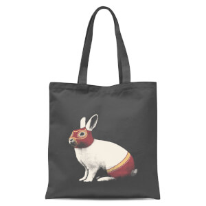 Florent Bodart Lapin Catcheur Tote Bag - Grey