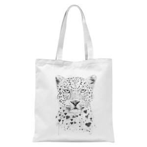 Balazs Solti Love Hearts Tote Bag - White
