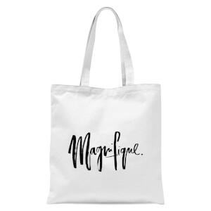 PlanetA444 Magnifique Tote Bag - White