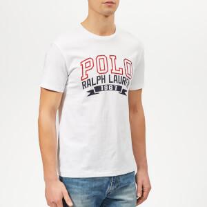 Polo Ralph Lauren Men's Arch Logo T-Shirt - White