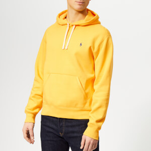 Polo Ralph Lauren Men's Pop Over Hoody - Chrome Yellow