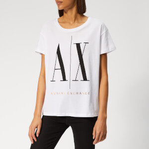 Armani Exchange Women's Icon T-Shirt - White