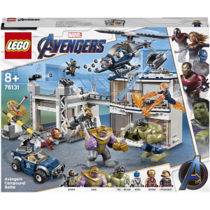 LEGO Marvel Avengers Compound Battle Set (76131)
