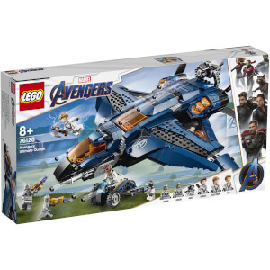 LEGO Marvel Avengers Ultimate Quinjet Plane Toy (76126)