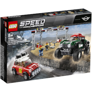 LEGO Speed Champions: Rallyeauto 1967 Mini Cooper S und Buggy 2018 Mini John Cooper Works 75894