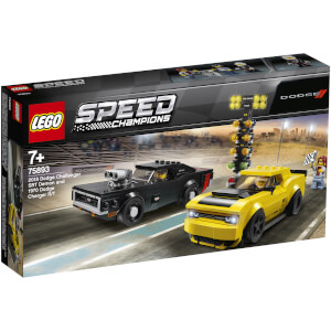 LEGO Speed Champions: 2018 Dodge Challenger SRT Demon und 1970 Dodge Charger R/T 75893