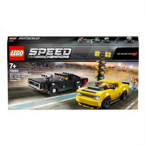 LEGO Dodge Challenger SRT Demon & 1970 Dodge Charger R/T(75893)