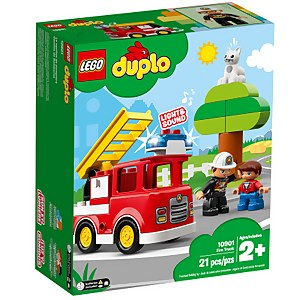 LEGO DUPLO Town: Fire Truck Building Set (10901)