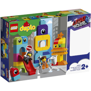 LEGO Duplo LEGO Movie 2: Emmet and Lucy's Visitors from the DUPLO® Planet