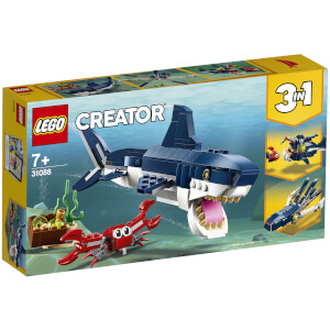 LEGO Creator: Deep Sea Creatures (31088)