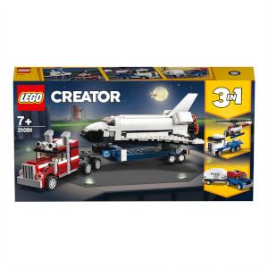 LEGO Creator: 3in1 Shuttle Transporter Building Set (31091)