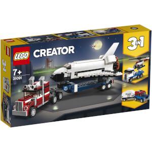 LEGO® Creator 3-en-1: Le transporteur de navette (31091)