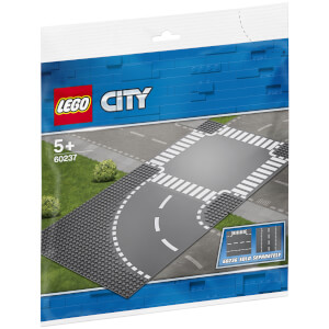 LEGO City Supplementary: Curve and Crossroad (60237)