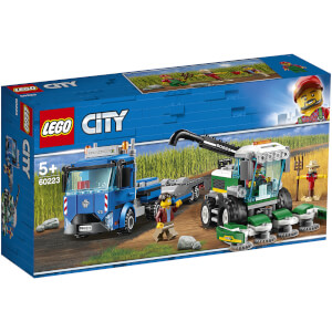 LEGO City Great Vehicles: Transporter für Mähdrescher 60223