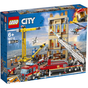 LEGO City Fire: Downtown Fire Brigade 60216