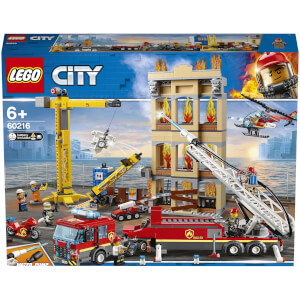 LEGO City Fire: Downtown Fire Brigade (60216)