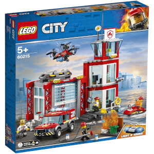 LEGO City: Fire Station Building Set (60215)