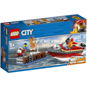 LEGO City Fire: Dock Side Fire (60213)