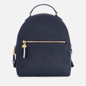 Lauren Ralph Lauren Women's Huntley Medium Backpack - Navy