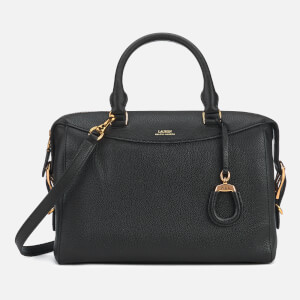 Lauren Ralph Lauren Women's Cornwall Medium Satchel Bag - Black