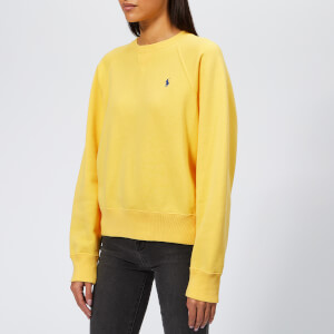 Polo Ralph Lauren Women's PP Crew Neck Sweatshirt - Yellow