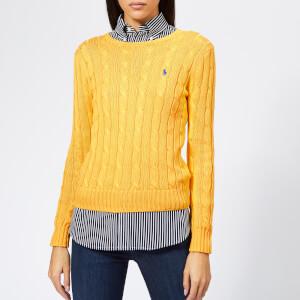 Polo Ralph Lauren Women's Julianna Jumper - Yellow