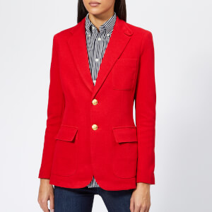 Polo Ralph Lauren Women's Blazer - Red