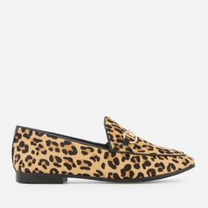 2cdab5f4f1a8 Dune Women s Guiltt Pony Loafers - Leopard
