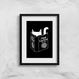 Tobias Fonseca Mind Control for Cats Art Print