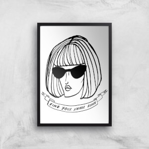 Rock On Ruby Find Your Inner Anna Art Print