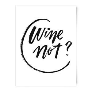 PlanetA444 Wine Not? Art Print