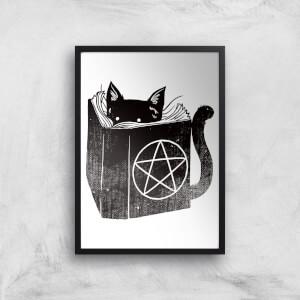 Tobias Fonseca Satanicat Art Print