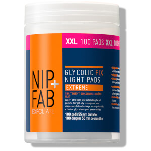 NIP+FAB Glycolic Fix Night Extreme Supersize Pads (Worth $33)