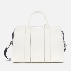 Calvin Klein Women's Race Tote Bag - Bright White