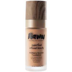 RAWW Nourish Foundation 30ml (Various Shades)