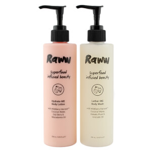 RAWW Super Nourished Superfood Skin Pack - 500ml (Worth $39.98)