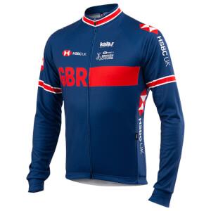 Kalas GBR Replica Training Long Sleeve Jersey - Blue