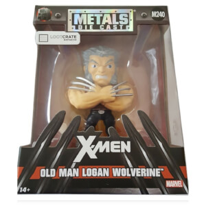 Jada Toys Marvel Old Man Logan Wolverine Metals Die Cast Figure