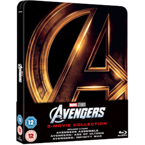 Avengers 1-3 Collection - Zavvi UK Exclusive Steelbook