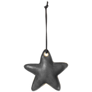 Broste Copenhagen Fade Christmas Ornament - Black - Star