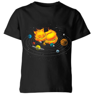 Tobias Fonseca The Centre Of My Universe Kids' T-Shirt - Black