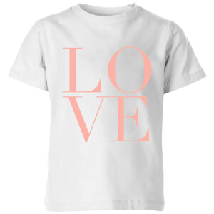 PlanetA444 LOVE Kids' T-Shirt - White