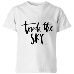 PlanetA444 Touch The Sky Kids' T-Shirt - White