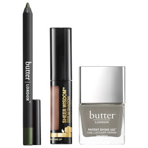 butter LONDON Khaki Set (Worth £47.00)