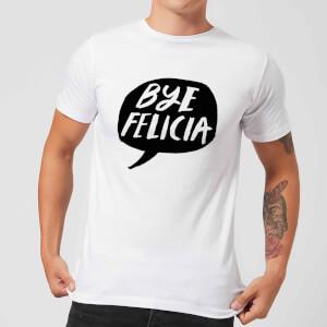 Rock On Ruby Bye Felicia Men's T-Shirt - White