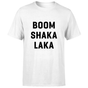 PlanetA444 Boom Shaka Laka Men's T-Shirt - White