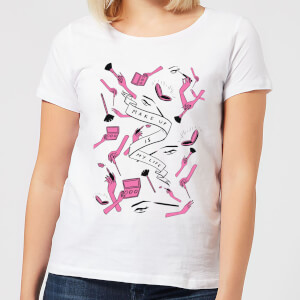 Makeup Is My Life Women's T-Shirt - White