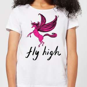 Fly High Women's T-Shirt - White